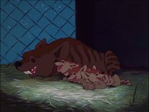Baby Mine Hyenas