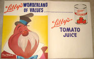 Libby tomato juice