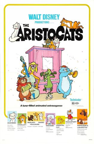 Fișier:True Original Aristocats Theatrical Poster.jpg