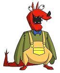 Hannibal McFist Whoopee World Mascot