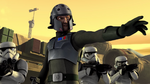 Kallus and stormtroopers