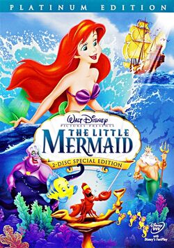 8. The Little Mermaid (1989) (Platinum Edition 2-Disc DVD)