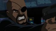 Angry Nick Fury