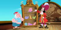 Captain Hook is a Cranky Crook