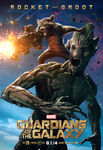 Rocket and Groot Gotg Poster