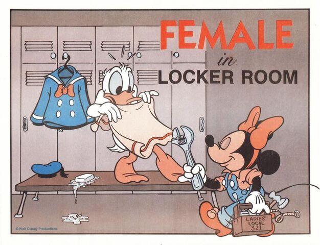 File:Female in Locker Room - Ladies' Local 321.jpg