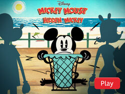 Hidden mickey game