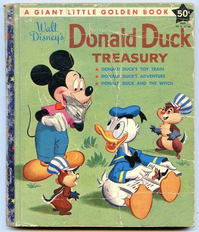 File:Donald duck treasury.JPG
