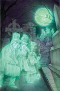 Disney Kingdoms Haunted Mansion 5 textless cover art