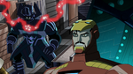 Tony observing Galactus