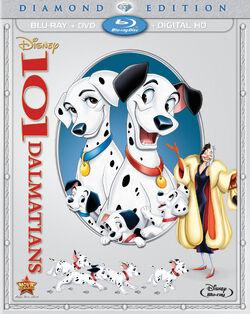101 Dalmatians Diamond Edition Combo Pack