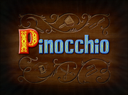 Pinocchio title card