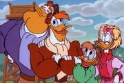 DuckTales LaunchpadMcQuack-Family-3