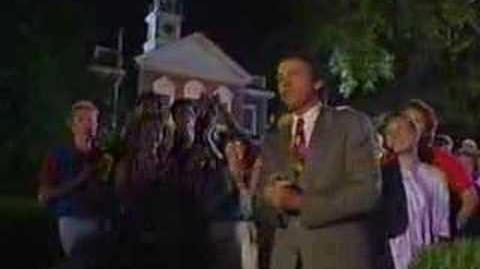 "John Ritter Hosts Disney ""Celebrate the Spirit"" July 4, 1992"