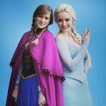 Once Upon a Time - Season 4 - Photoshoot - Anna and Elsa 4