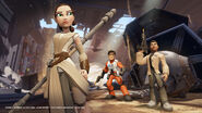 Disney INFINITY The Force Awakens Playset