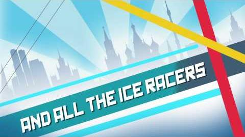Cars Fast as Lightning - Race on the ICE!