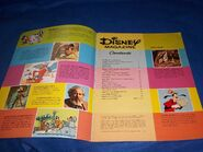 Disney magazine april 1977 contents