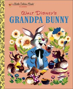Grandpa bunny little golden book classic