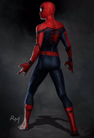 File:SMH Spider-Man suit concept (rear).png