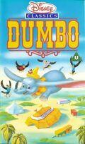 Dumbo UK VHS Cover
