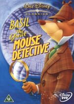 The Great Mouse Detective 2002 UK DVD