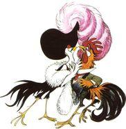 Chanticleer With Pheasant