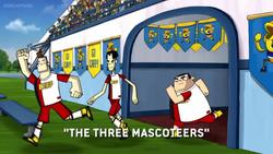 Three Mascot-teers