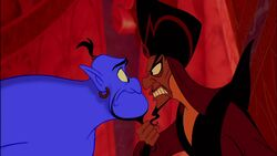 Genie and Jafar