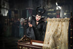 Maleficient casting her curse