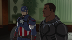 Captain America and Black Panther AUR 07