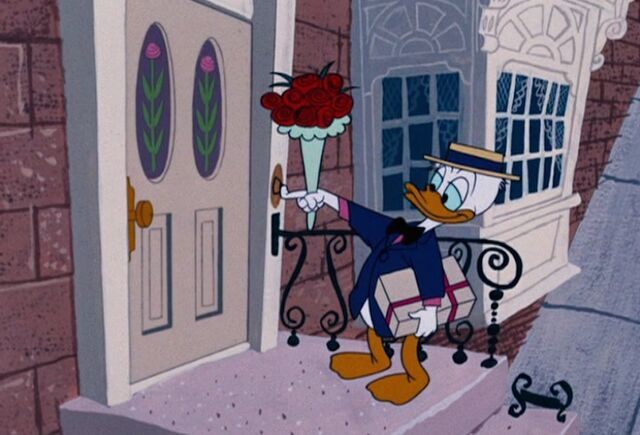 File:Donald-Duck-Flowers-and-Present-.jpg