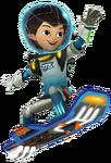 Miles hoverboard render