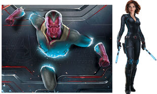 Vision and Widow AoU Promo Art