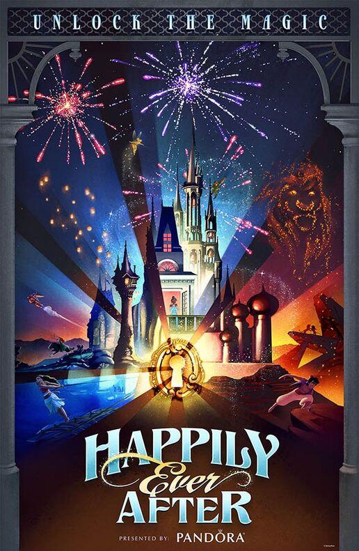 Happily Ever After Fireworks Show Disney Wiki Fandom