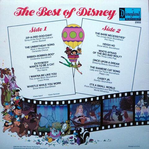 File:Best of Disney Vol 1 back.jpg