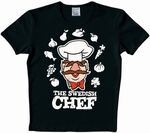Logoshirt-TheSwedishChef-T-Shirt-black