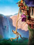 Tangled Textless Poster 3