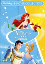 The Little Mermaid Cinderella Box Set UK DVD