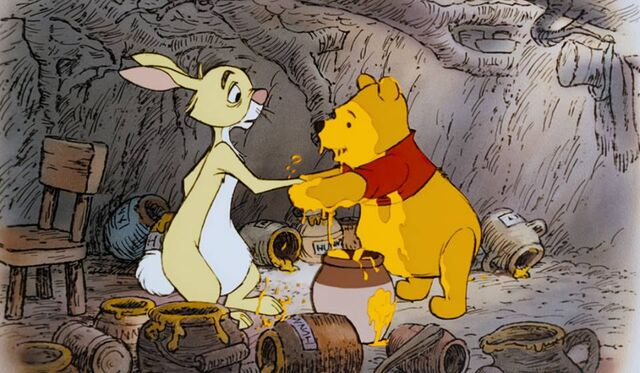 File:Winnie the Pooh I must be going now Good bye Rabbit.jpg