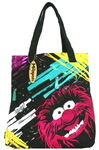 Animal smear tote bag
