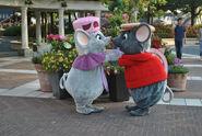 Bianca and Bernard At Disney