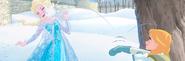 Frozen The Christmas Party Book Illustraition 4