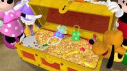 Inside the treasure chest
