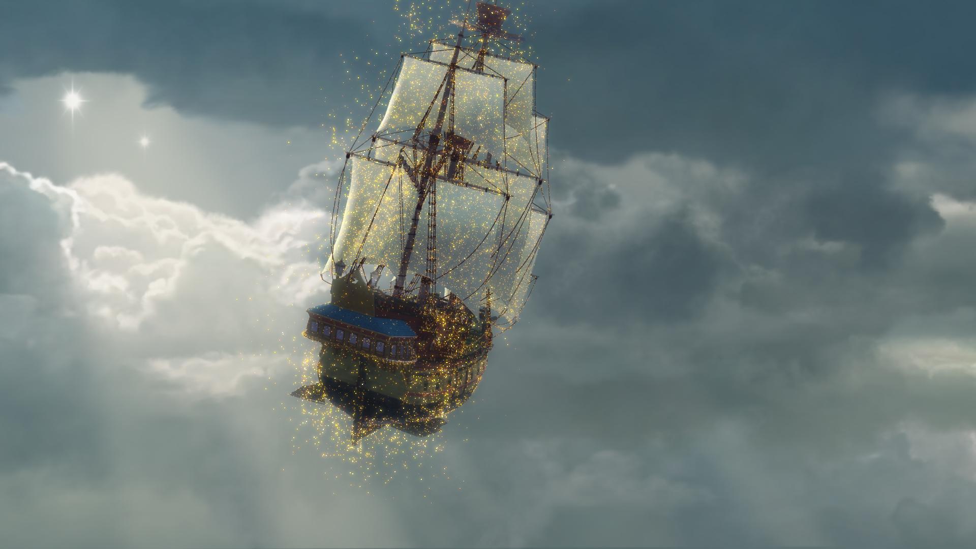 Jolly Roger Ship Peter Pan Pirate Party Pinterest Jolly