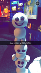 Snowmen at D23
