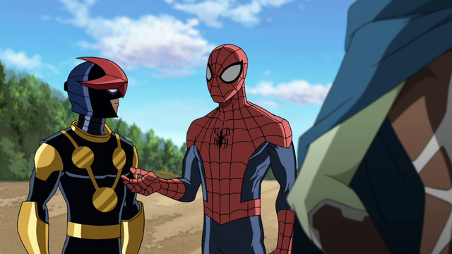 File:Spider-Man and Ultimate Nova USWW.png