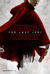 The Last Jedi red poster 1