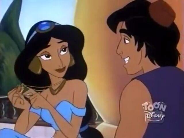 File:Aladdin & Jasmine - Scare Necessities (1).jpg