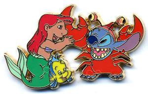 File:DisneyShopping.com - Lilo & Stitch in 'The Little Mermaid'.jpeg